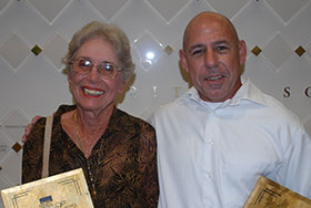 Photo of Lorrie and Richard Knowles. Link to their story.