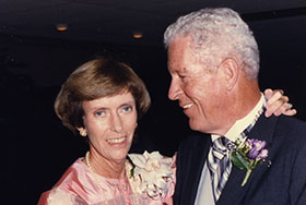 Photo of Jane and Bill Burt, Jr. Link to their story.