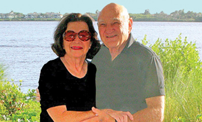 Dr. Sheldon Zane with his wife Elaine